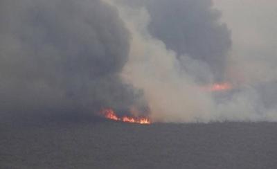 """HOY / Incendios en el Chaco: continúa labor """"a brazo torcido"""" para combatir las llamas"""