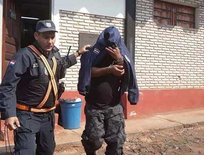 Imputan a guardiacárcel detenido con 512 gramos de crack en CDE