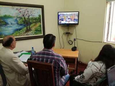 Interno obtiene sobreseimiento provisional a través de videoconferencia