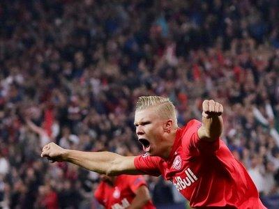 Red Bull Salzburgo debuta en Champions con paliza al Genk