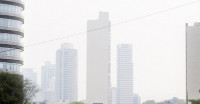 Respirar en Asunción es lo mismo que fumar