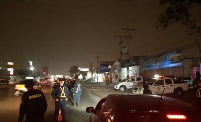HOY / Por más seguridad: fuerte operativo de control en Asunción y alrededores