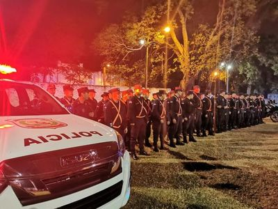 """Policía refuerza presencia nocturna para revertir imagen de estar """"desmotivados"""""""