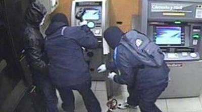 El crimen organizado no para, robaron dinero de cajeros del BNF
