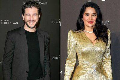 Salma Hayek y Kit Harington reunidos en la producción de Eternals, la nueva película de Marvel