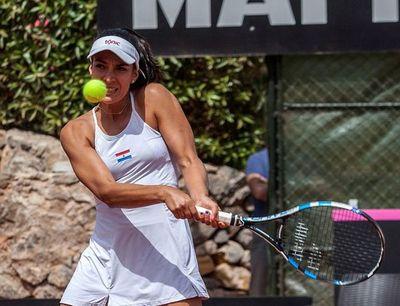 Verónica Cepede debuta hoy en torneo francés