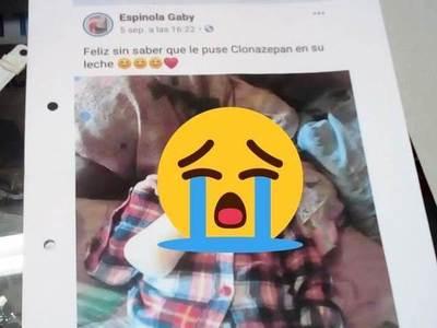 Un padre se entera por Facebook que a su hijo de 1 año le deban clonazepam •