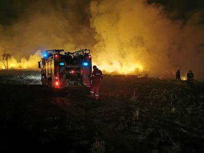 Costanera Hernandarias volvió a quemarse