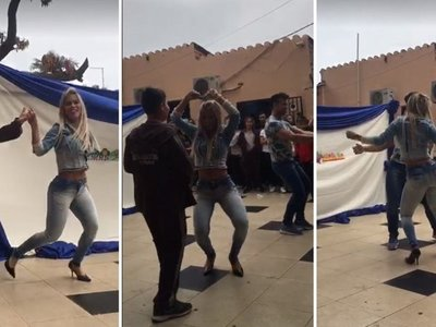 VIDEO: Así fue el baile de Sole Cardozo que escandalizó en una escuela