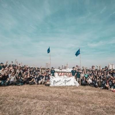 Voluntarios de Corona y Parley interceptaron 26.723 kgs. de residuos en Costas del río Paraguay