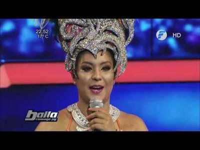 Junior y Fátima Román cantaron en Baila Conmigo Paraguay
