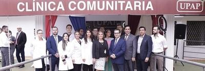 Inauguración oficial de la Clínica Comunitaria en CDE