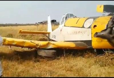 Avión hidrante registró problemas cuando estaba por despegar