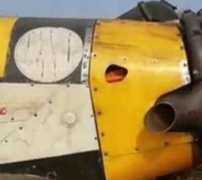Avión hidrante realiza aterrizaje forzoso en el Chaco