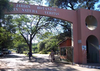 Ciudadanos se manifiestan en contra de la tala de arboles frente al Botánico