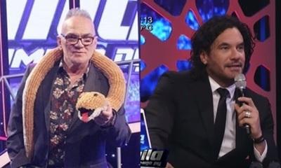 """Luis Calderini:  """"¿Como pico Mario Cimarro le va a regalar tangas a las bailarinas del staff """""""