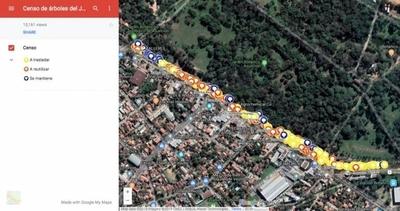 HOY / Continúa resistencia al Corredor Vial Botánico: mapa interactivo del área afectada