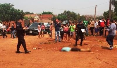 Matan a balazos a joven en Pedro Juan
