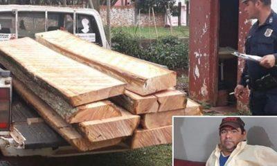 Capturan a hombre por tala ilegal de árboles