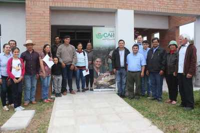 CAH entregó créditos blandos para productores de Pilar afectados por inundaciones