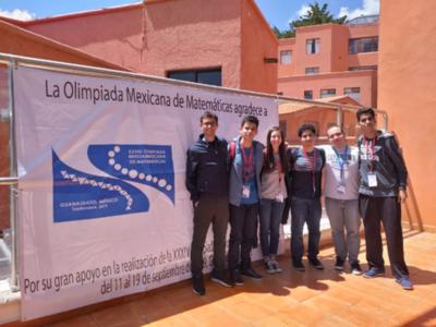 Olimpiada de Matemáticas: obtienen premios en México