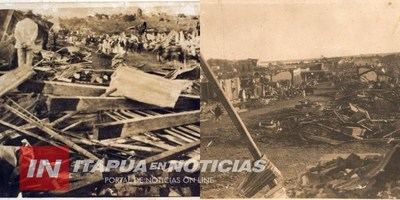A 93 AÑOS DEL CICLÓN QUE AZOTÓ Y DEVASTÓ ENCARNACIÓN