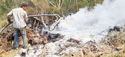 Aparecen nuevos focos de fuego en Alto Paraguay