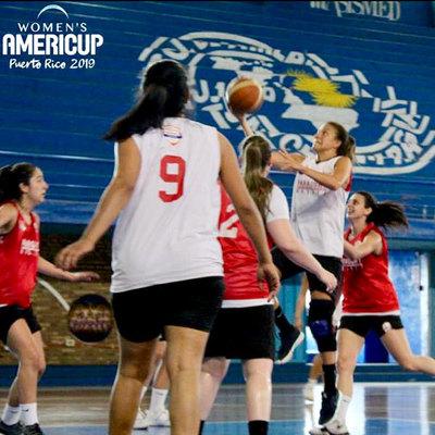 Selección femenina de basket alistada para competir el torneo Americup