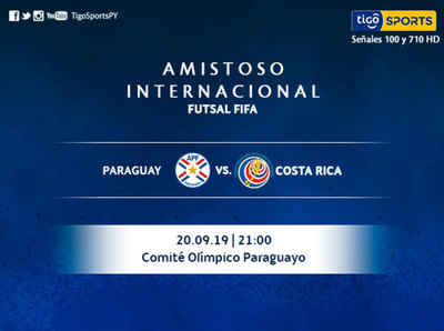 Paraguay se calibra ante Costa Rica en amistoso