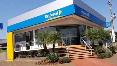 Guardia evita asalto en sucursal bancaria