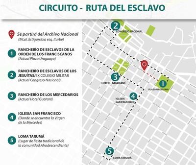 """""""La ruta del esclavo"""" permitirá conocer la historia Asunción colonial"""