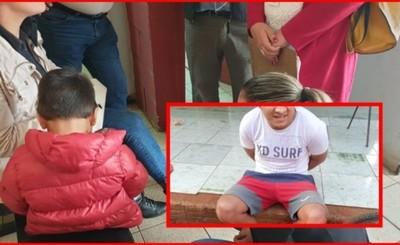 Detienen a presunto violador de un menor de 3 años