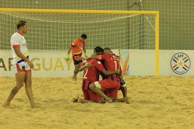 Cerro Porteño, finalista de la Libertadores de Fútbol de Playa