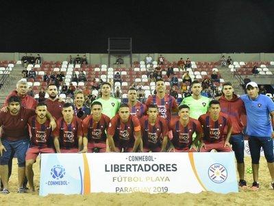 Cerro Porteño, finalista de la Libertadores de fútbol playa