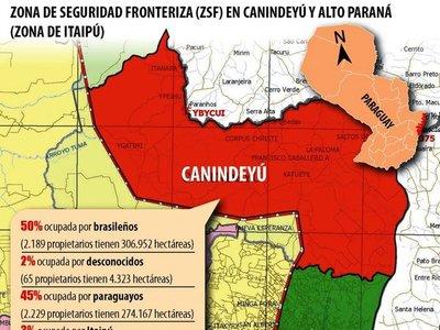Impulsan  ley que ponga un límite de tierras en manos de extranjeros