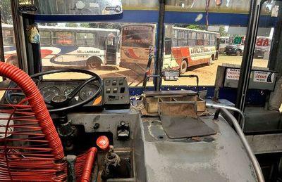 El 85% de los buses de área metropolitana amenazan con ir a paro el martes