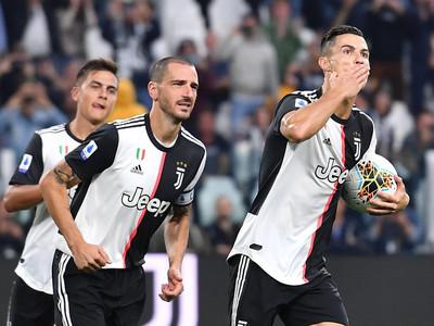 Cristiano Ronaldo le da la victoria a Juventus