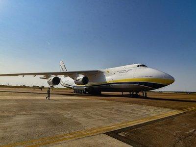 Un gigante se posó en el Aeropuerto Guaraní de Minga Guazú