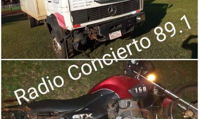 Motociclista fallece tras ser atropellado por un camión