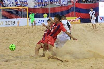 Cerro cae ante Vasco y es 'vice' de la Libertadores de fútbol playa