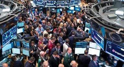 Bolsa de Nueva York cae por expectativa de negociaciones entre China y EE.UU