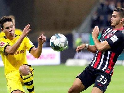 Borussia Dortmund tropieza contra el Eintracht