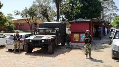 Militarización de las cárceles será sólo hasta mañana, aclaró viceministra