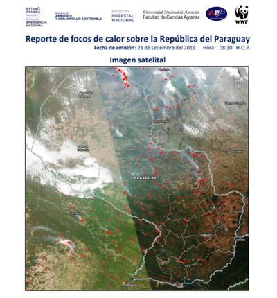Informan sobre focos de incendio controlado en Misiones, pero destinan más personal al Chaco