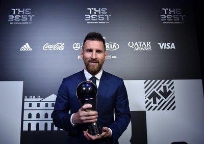 Messi, ganador del premio 'The Best' de la FIFA