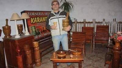 Gregorio Martínez Lesme, un artesano de la madera
