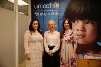 Primera Dama se reúne con autoridades en Nueva York para cooperaciones en infancia y educación