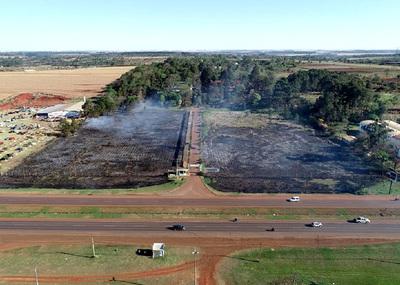 Importantes daños medioambientales tras incendio en Ingeniería Agronómicas