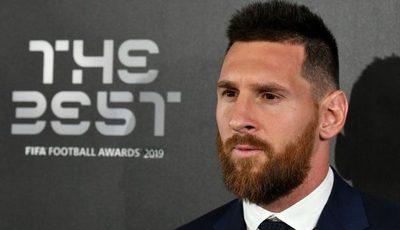"""Messi, elegido como el nuevo """"The best 2019"""""""