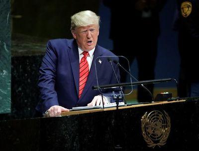 """Trump llama a Maduro """"marioneta de Cuba"""" en su discurso ante la ONU"""